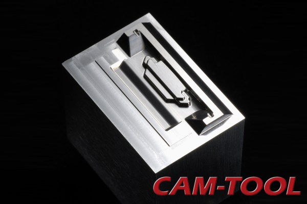 Electronics Mold Milled with High-Speed CNC Machine