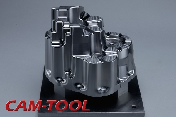 Gear Case Mold Milled with High-Speed CNC Machine