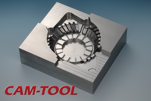 Alternator Milled with High-Speed CNC Machine